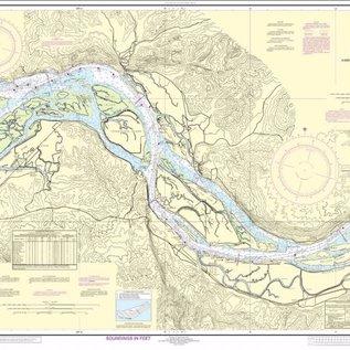 NOS NOS 18523 OGF Columbia River - Harrington to Crims Island