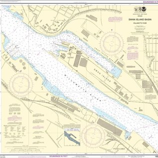 NOS NOS 18527 OGF Willamette River - Swan Island Basin