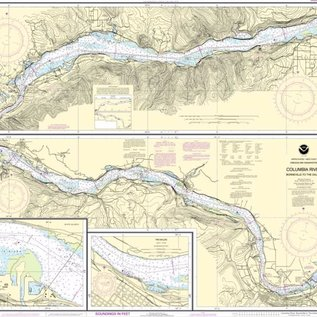 NOS NOS 18532 OGF Columbia River - Bonneville to The Dalles