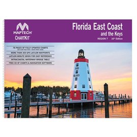 MTP ChartKit 7 Florida East Coast and the Keys 16th ED by Maptech