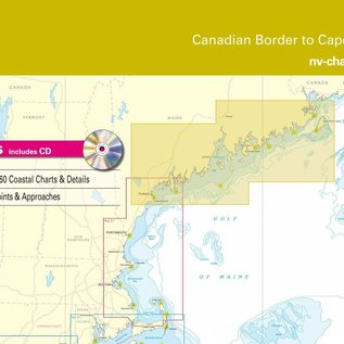 NP NV Charts Region 1.1 Maine, Canadian Border to Cape Elizabeth