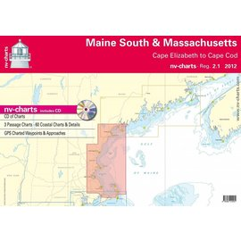 NP NV Charts Region 2.1 Maine South and Massachusetts Bay