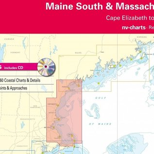 NP NV Charts Region 2.1 Maine South and Massachusetts Bay Region 2.1