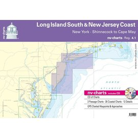 NP NV Charts Region 4.1 Long Island South Shore and New Jersey