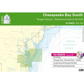 NP NV Charts Region 5.2 Chesapeake Bay South Region 5.2