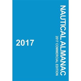 PRC Nautical Almanac 2017 Commercial Edition