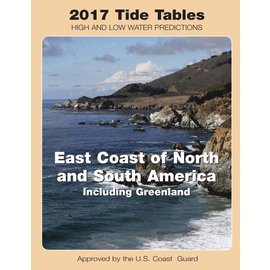 NOS Tide Tables 2017 East Coast North & South America