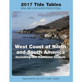 NOS Tide Tables 2017 West Coast North & South America