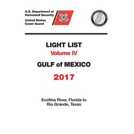 GPO USCG Light List 4 2017 Gulf of Mexico