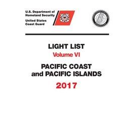 GPO USCG Light List 6 2017 Pacific Coast and Pacific Islands