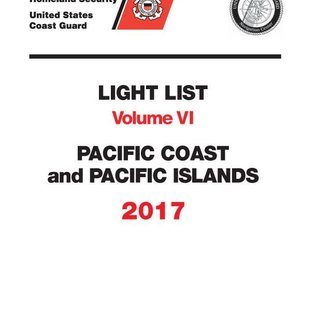 GPO USCG Light List 6 2017 Pacific Coast and Pacific Islands