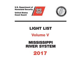 GPO USCG Light List 5 2017 Mississippi River System