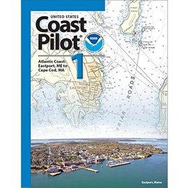 NOS Coast Pilot 1: 47ED/2017  Atlantic Coast Eastport ME to Cape Cod MA