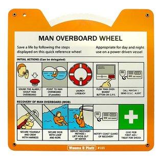 Man Overboard Wheel W&P165 for Williamson Turn