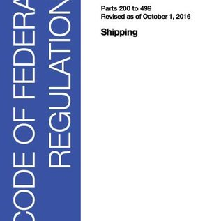 GPO CFR46 Volume 8 Parts 200 to 499 Shipping 2016