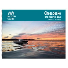 MTP ChartKit 4 Chesapeake & Delaware Bays by Maptech