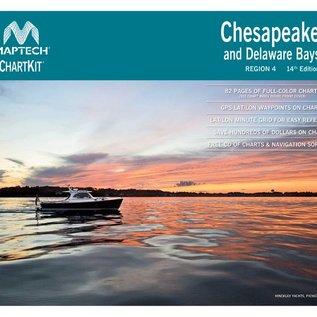 MTP ChartKit 4 Chesapeake & Delaware Bays by Maptech