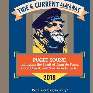 PRC Capt'n Jack's 2018 Tide & Current Almanac - Puget Sound