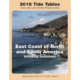 NOS Tide Tables 2018 East Coast North & South America