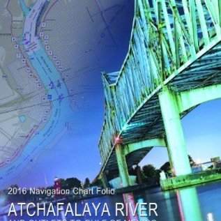 COE Atchafalaya River Corps of Engineers Charts 2016