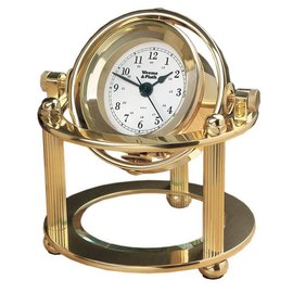 Solaris Desk Clock by Weems & Plath 790500