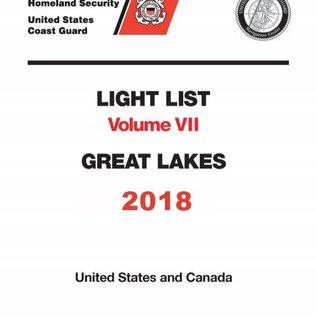 GPO USCG Light List 7 2018 Great Lakes