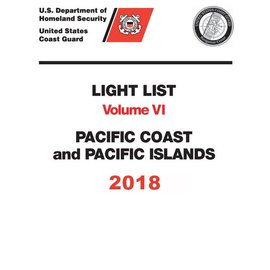 GPO USCG Light List 6 2018 Pacific Coast and Pacific Islands