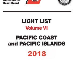 GPO USCG Light List 6 2018 Pacific Coast and Pacific Islands
