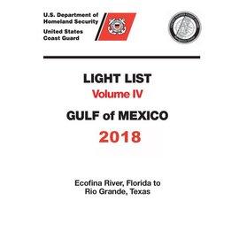 GPO USCG Light List 4 2018 Gulf of Mexico
