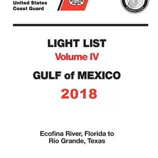 GPO USCG Light List 4 2018 Gulf of Mexico