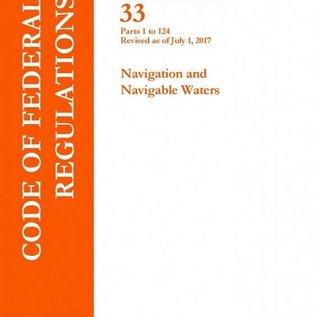 GPO CFR33 V1 1-124 2017 Navigation and Navigable Waters