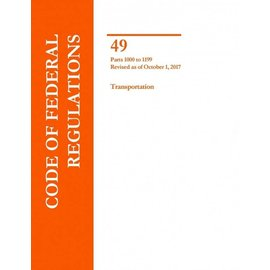 GPO CFR49 Volume 8 Parts 1000-1199 Transportation 2017