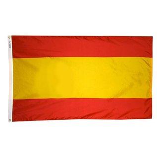 """MNS Spain Flag 12"""" x 18"""" Nyl-Glo (civil)"""