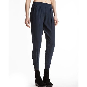 Midnight Silk Sweat Pant