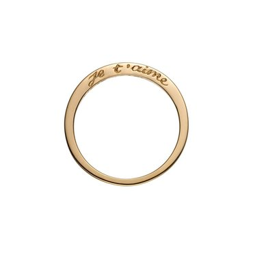 Je T'aime 14K Yellow Gold Ring
