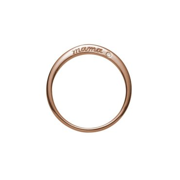 Mama 14K Rose Gold Ring
