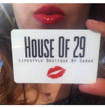 House of 29 Gift Card - $100
