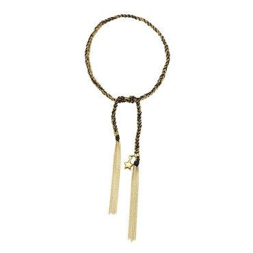 Star 18K Yellow Gold Lucky Bracelet