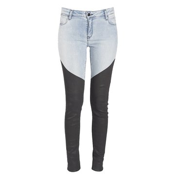 Skinny Mid Rise Two Coated Toned Jean