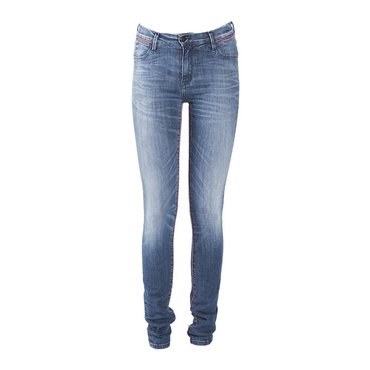 Skinny Mid-Rise Blue Basic Jeans