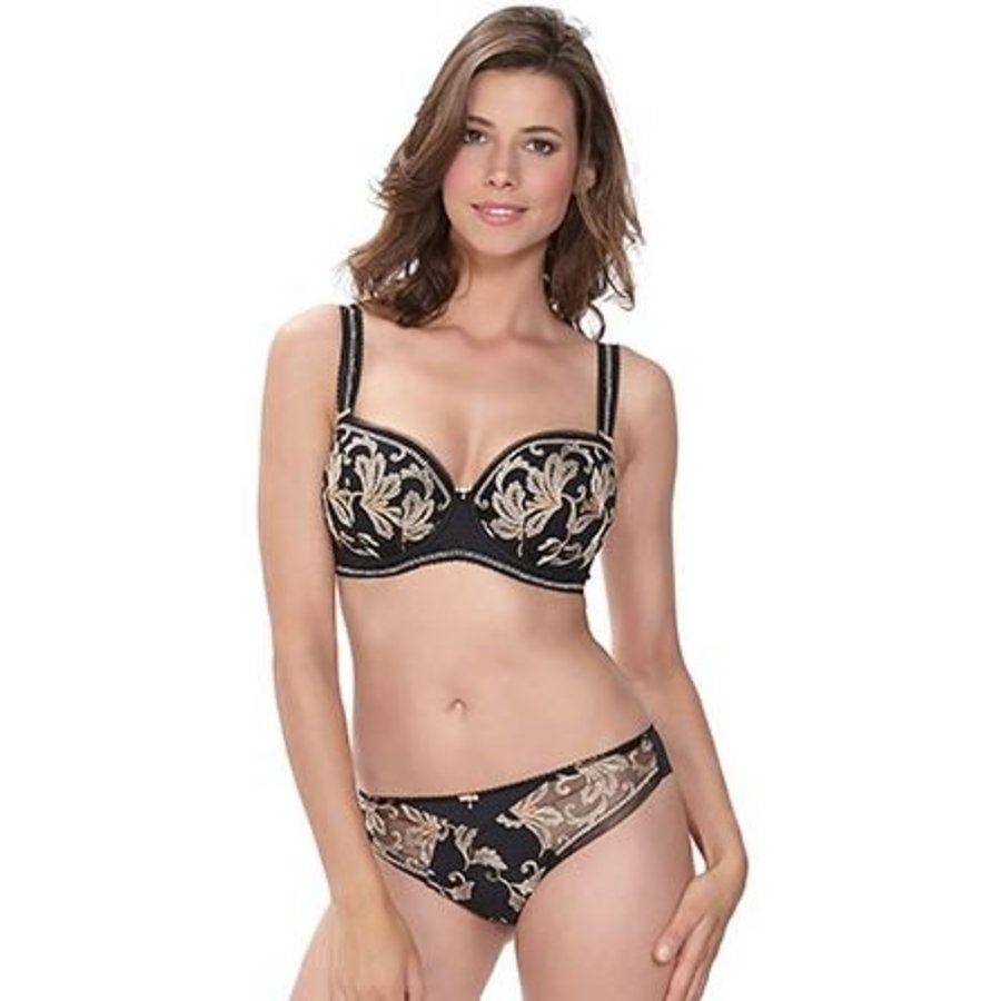 sofia underwire padded half cup