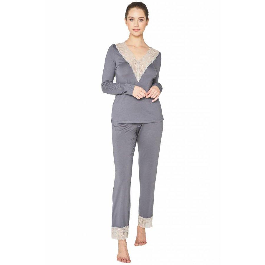 bacall sleepwear vneck top
