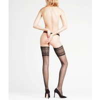 pure shine 15 stay-up wide lace