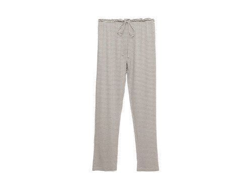 sadie stripes the drawst slim pant