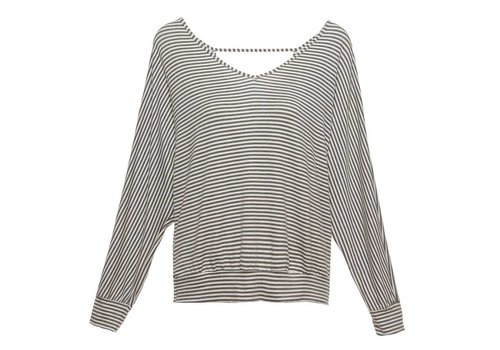 sadie stripes the dolman sleeve top