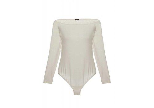 minimalista off shoulder bodysuit
