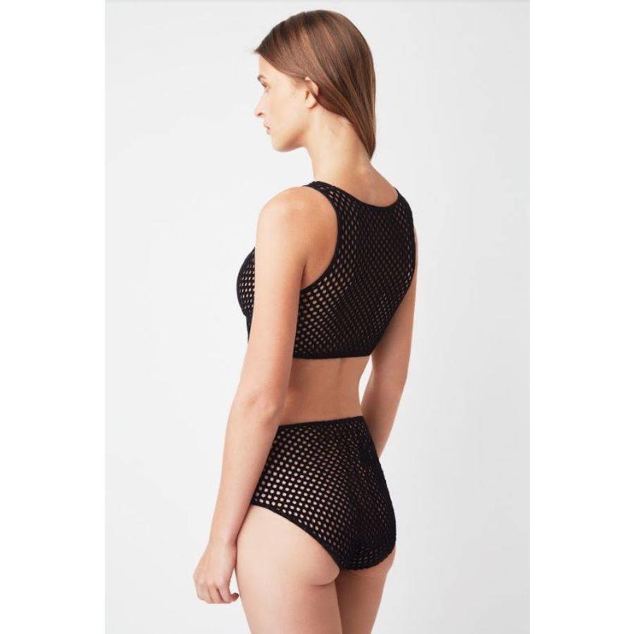 velvet high waist brief