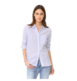 Cupcakes and Cashmere C&C Pin Stripe Button Up Shirt