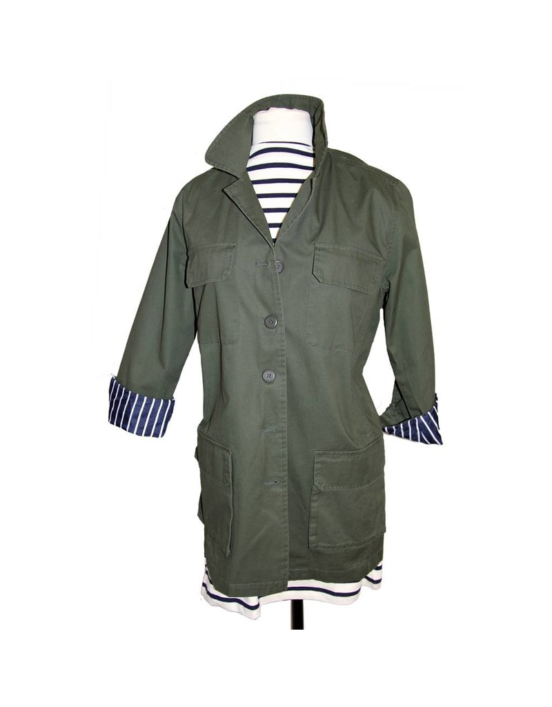 BB Dakota BB Dakota Army Green Kierson Jacket