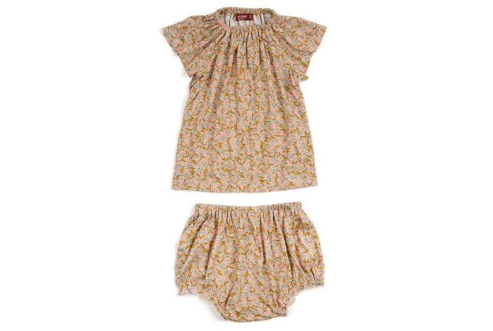 MILKBARN MILKBARN Bamboo Dress/Bloomer Set